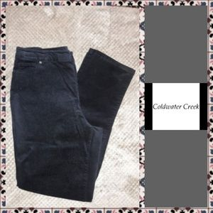 💥 Coldwater Creek Brushed Corduroy Pants